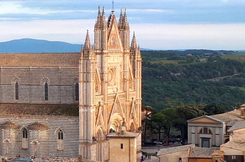 Orvieto: die senkrechte Perspektive