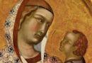 POLITTICO LORENZETTI POST  Madonna con Bambino (part.)m