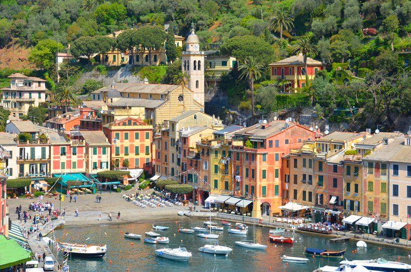 Ligurien: Die malerische Bucht von Portofino