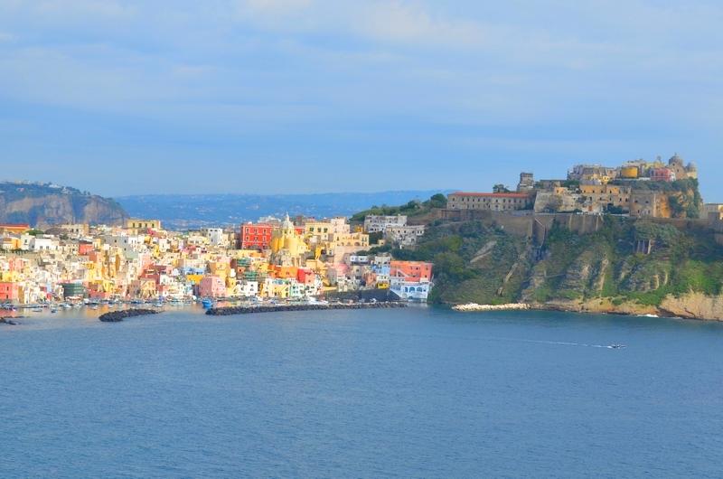 Die Insel Procida im Golf von Neapel