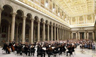 "18. internationales Festival der Stiftung ""Pro Musica e Arte Sacra""Papstbasilika St. Paul vor den Mauern ©Musacchio, Ianniello & Pasqualini"