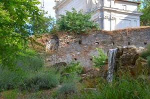 Ein Stück der Aurelianische Mauer