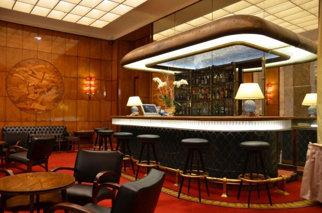 Das einmalige Art déco-Hotel Mediterraneo in Rom