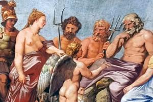 Raphael, Amore und Psyche, Villa Farnesina