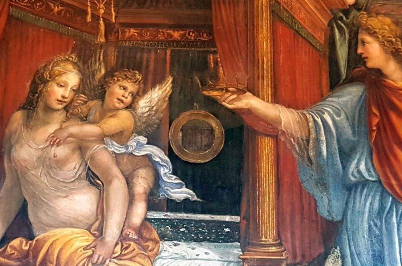 Die zwei Liebesgeschichten der Villa Farnesina