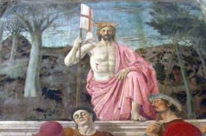 """Sansepolcro, """"Auferstehung"""" (Resurrezione) von Piero della Francesca"""