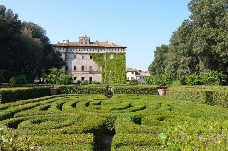 Das Schloss Ruspoli in Vignanello