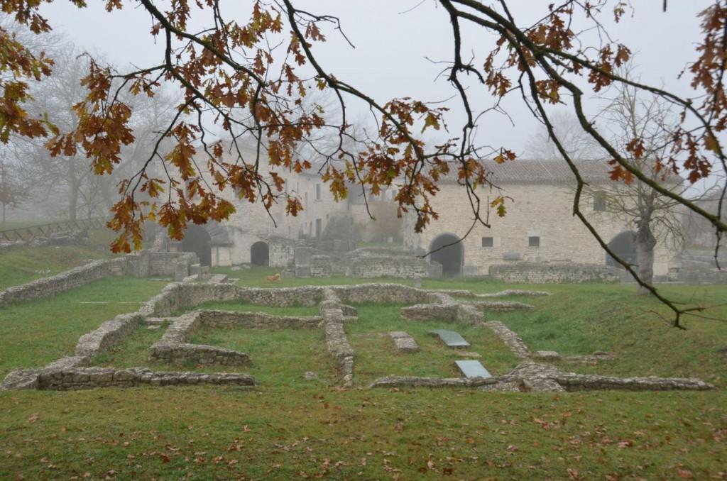Die archäologische Stätte von Altilia-Saepinum