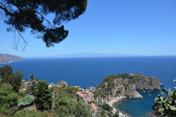 Sizilien: Taorminas Luft