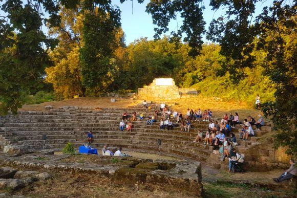 Das Theater von Tusculum , Foto TiDPress