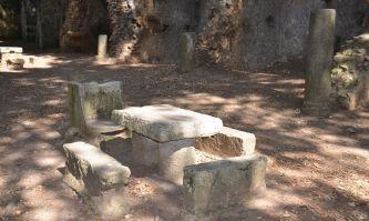 Ruinen der Vopisco-Villa