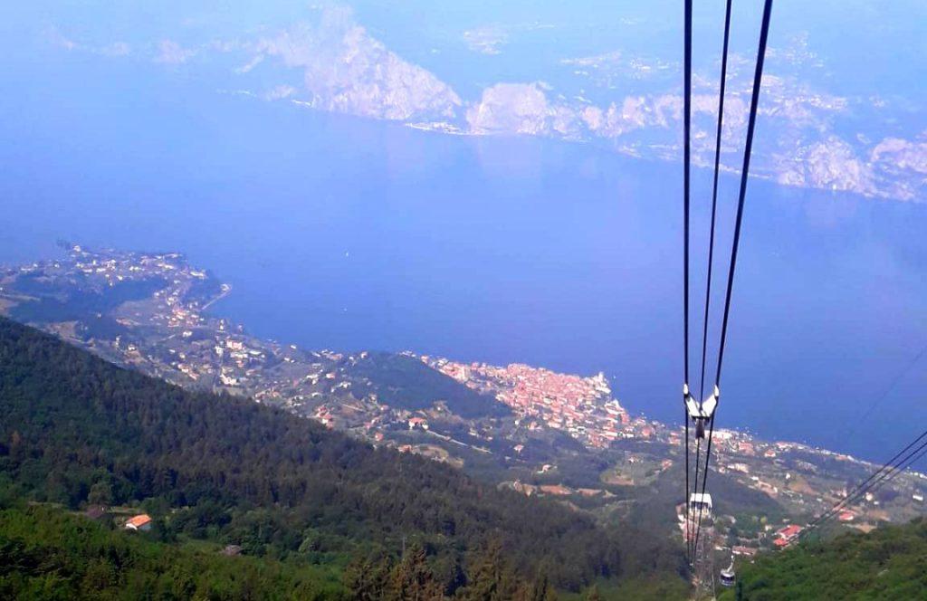 Monte Baldo und Gardasee