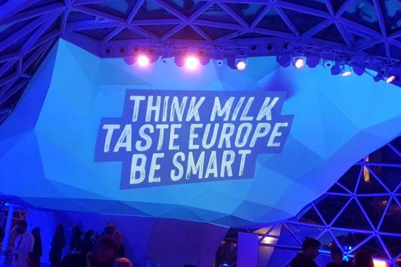 """Think Milk, Taste Europe, Be Smart"""